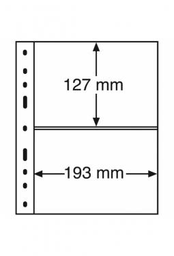 Kunststoffhüllen OPTIMA XL, 2er Eintei..