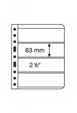 Kunststoffhüllen VARIO, 4er-Einteilung..