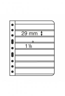 Kunststoffhüllen VARIO, 8er-Einteilung..