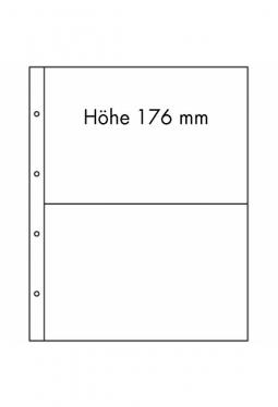 Kunststoffhüllen FOLIO, 2er Einteilung..