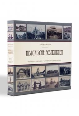 Album für 600 historische Postkarten, ..
